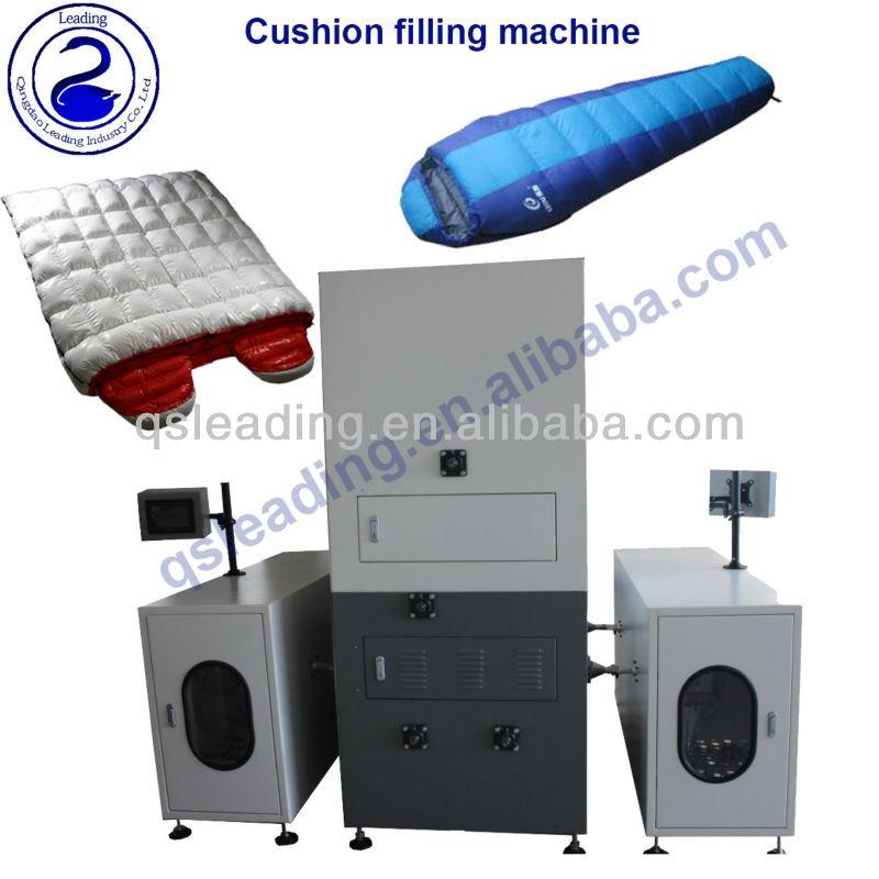 duvet coussin machine machines de remplissage id de produit 1264081494. Black Bedroom Furniture Sets. Home Design Ideas