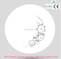 New design 2years warranty 28W LED Ceiling lamp