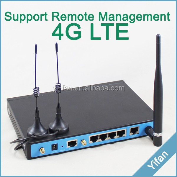 good for outdoor use YF360D Industrial 4g dual sim router for DVR