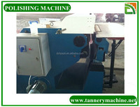 leather polishing machine for tannery