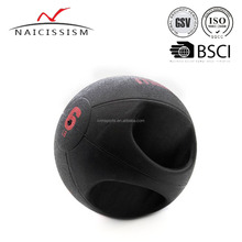 Gym crossfit weighted ball with grip