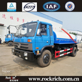 Top quality dongfeng 9000 Liters mini vacuum sewage suction trucks sale