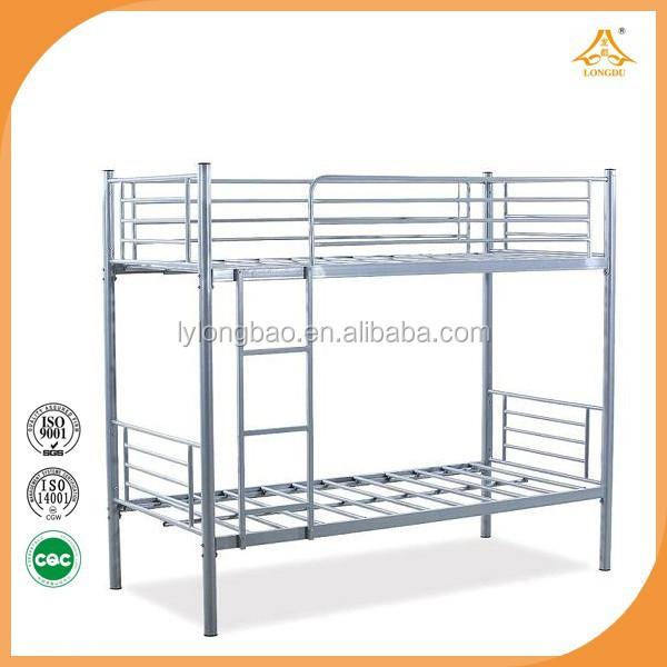 Militaire m tal lit tuyau cadre m tallique cadre de lit en acier robuste lit - Cadre de lit en metal ...