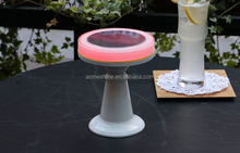 Party Decaration Night Light Solar Panel RGB Solar Led desk Light Remote Control DC Cable
