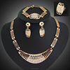 Wholesale Indian Jewelry ,Gold Jewelry,Necklace Earrings Ring Sets(SWTAA1541)