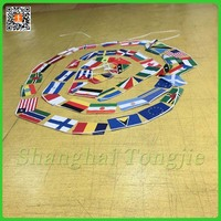 wholesale factory promotion polyester string Israel flag