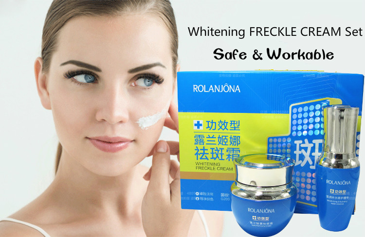 Rolanjona skin anti-wrinkle cream 7 days whitening cream set