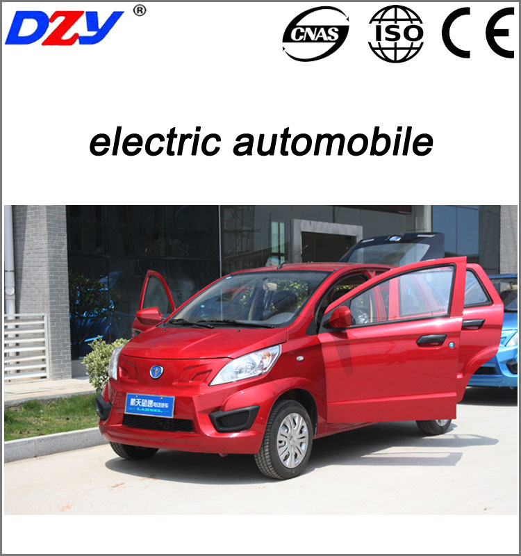 4 seat 5 doors vehicle 4wd automobile electric car
