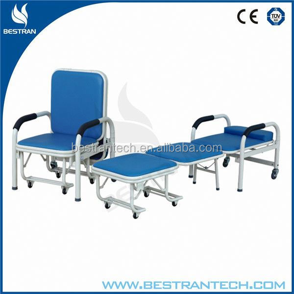 BT-CN001 medical patient room foldable used metal folding chairs