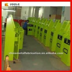 powder coating surface cold rolled steel coin dispenser enclosure