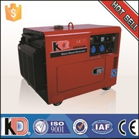 Home use 5kw 6.25kva Silent Diesel Generator Price