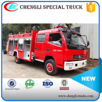 Dongfeng 4*2 120hp 3500L Water Tank Fire Truck Specifications