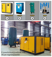 22kw 6bar PM series inverter compressor with PM Motor permanent motor 8 bar air compressor