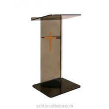 Custom different acrylic church podiums