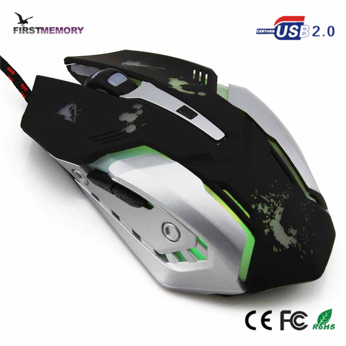 GAMER SERIES USB OPTICAL 6D COMPETITIVE GAME WIRED MOUSE