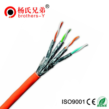 500 MHz 4 twisted pairs Ethernet cat6A FFTP network cable