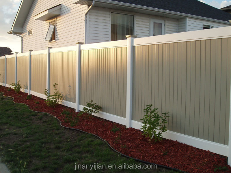 Outdoor Extruding WPC Fencing with Door