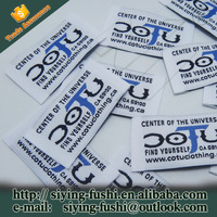 High Density Cheap Woven Labels Tag,Clothing Labels Satin