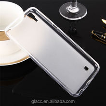 2016 trending products as Anti-fingerprint Frosted Slim Thin TPU cover case for LG X power/K6 P /K450/k210/LS676 /tribute HD