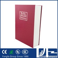High sale Zhejiang manufacturer packaging peronal book safe box