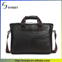 2015 new style Christmas gift business bag genuine leather laptop briefcase