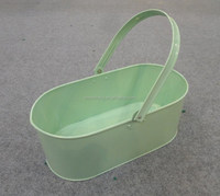 Portable LFGB-Certified Trough/ Large Multipurpose Hanging/Standing Garden Flower Pot/Planter/_Picnic Sundries Collector