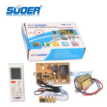 Suoer Best Price Air Conditioner Universal Control Board with PG Motor