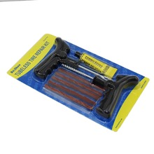 Car Van Motorcycle Bike Van Tyre Emergency Puncture Repair Kit