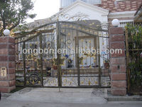 2013 Top-selling modern used wrought iron door gates