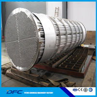 ASME SS shell and tube heat exchanger
