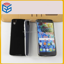 Alibba Transparent Soft Gel Tpu Phone Cover Case For Alcatel One Touch Idol 4 OT-6055 6055 6055B/H/I/K/Y