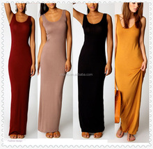 Clothing factory in China bulk wholesale summer long dress