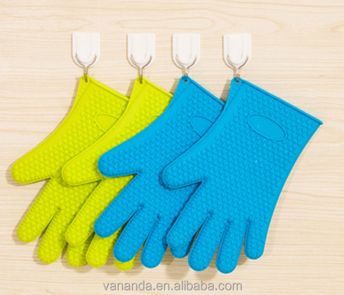 Manufacturer Silicone gloves oven gloves BB grill gloves