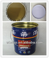 5 gallon iron drum blue