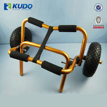 Universal Folding Kayak Aluminum Trolley For Canoe