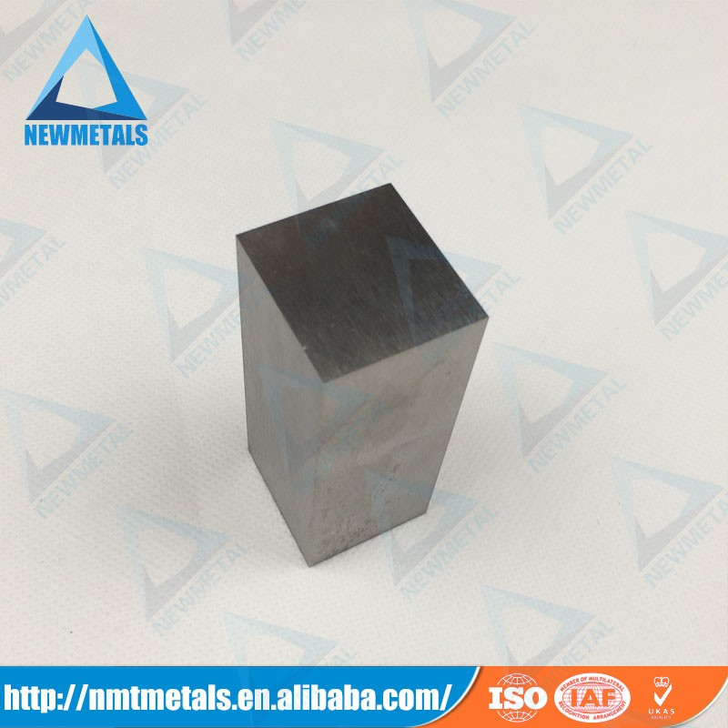 Machinery tungsten heavy metal alloy blocks alloy cube