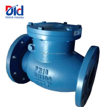 Cheap Price Cast Iron PN16 DN100 GG25 Swing Type Flap Sandwich Flanged Sewage Check Valve