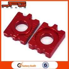 Motorcycle Billet Rear Chain Adjuster Axle Blocks For Honda CRF250L 12 13 14 15 Motocross Dirt Bike Parts