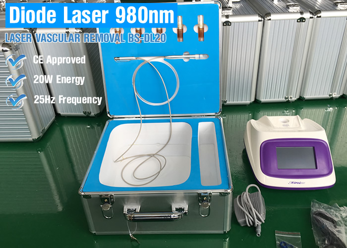980 diode laser vascular removal flat wart removal fat granule removal