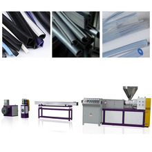 Factory price soft PVC sealing strips belts extrusion machine/ plastic profile production line