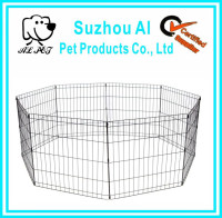 New Metal Dog Playpen Foldable with a Door