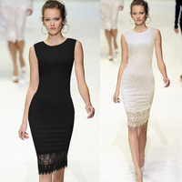 2014 ladies designed elegant pencil dress SV001577