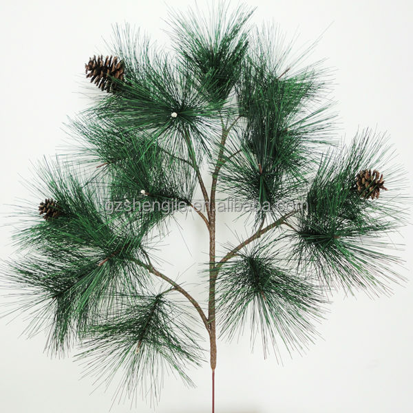 Artificial tree decoration pine branches