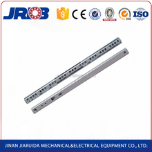 High quality 17mm mini ball bearing drawer slides for office desk