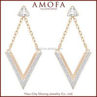 Fantasy Jewelry New Designs Korean style Pictures Of Gold Earrings