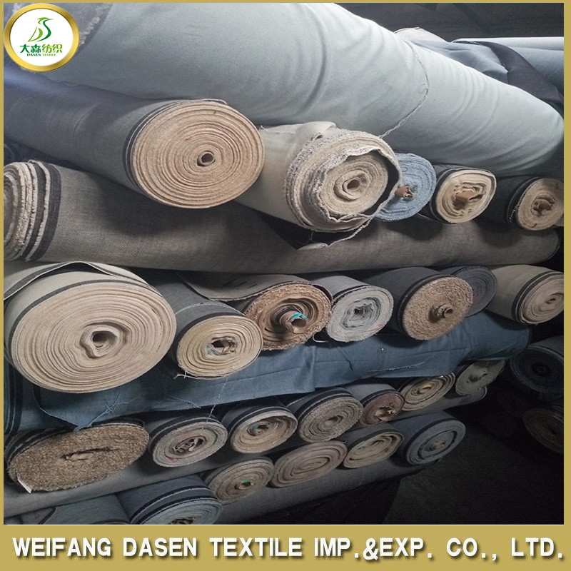China over 10 OZ denim fabric stocklot wholesale
