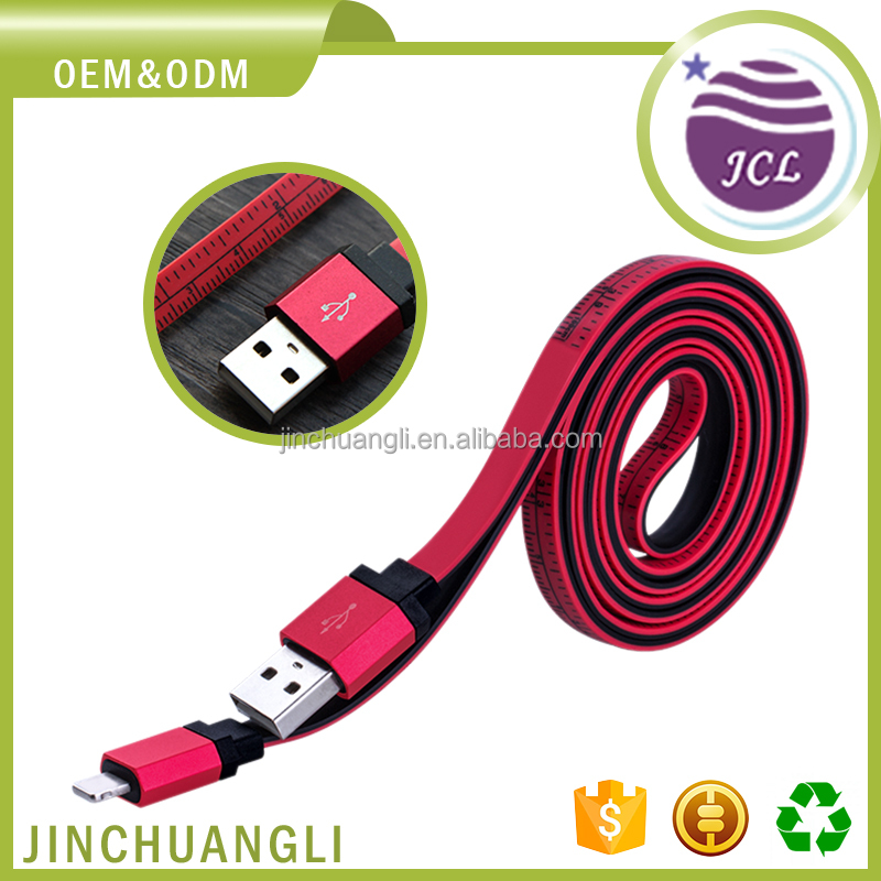 Hot selling electrical custom mobile new extension double sided sync usb cable