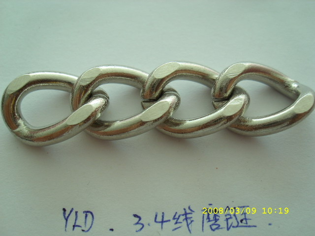 YLDS high quality hot sale strong silver metal handbag chain