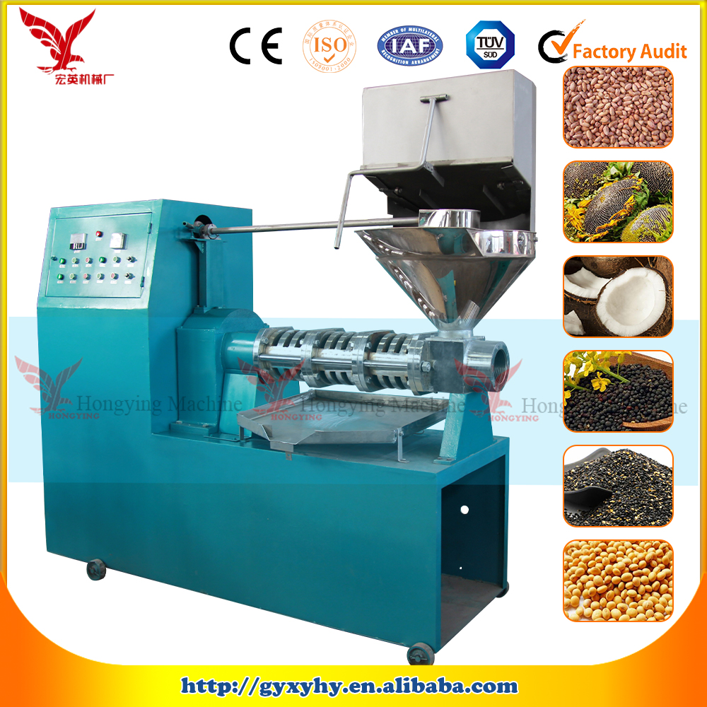 Multi-functional Sunflower/Flaxseed/Pumpkin Seed Oil Press for Edible Oil