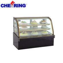 refrigerated bakery pastry freezer showcase for cake bread sandwich